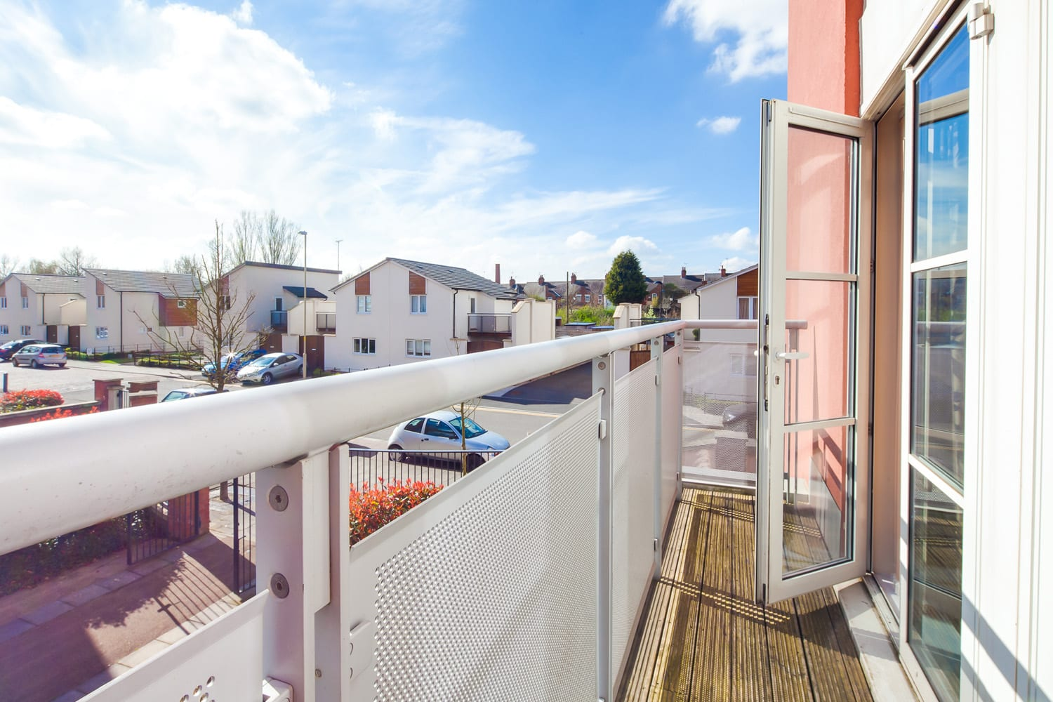 serviced apartments Leicester balcony